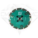 """Алмазный отрезной круг с воздушным охлаждением """"защитный зуб"""", Китай FY, Ø 125"""