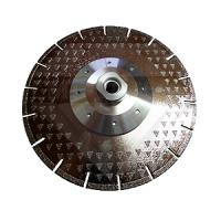 """Алмазный отрезной круг с воздушным охлаждением """"двухсторонняя гальваника"""", Китай WL Ø 230 М14"""
