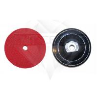 Крепление переходное (адаптер) жесткое пластик Ø 100 М14 пластик Velcro