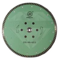 """Алмазный отрезной круг с воздушным охлаждением, """"Турбо""""Китай WL  Ø 230"""