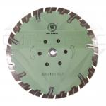 """Алмазный отрезной круг с воздушным охлаждением """"защитный зуб"""", Китай WL Ø 230"""