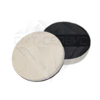 Войлочный полировальный круг жесткий, тонкошёрстный (фетр) Ø 100/тонкошёрстный/Velcro h-20 мм