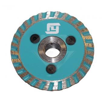 """Алмазный отрезной круг с воздушным охлаждением, """"Турбо"""" FY Ø 65 мм."""