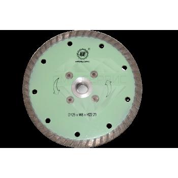 """Алмазный отрезной круг с воздушным охлаждением, """"Турбо"""" Китай WL Ø 125"""